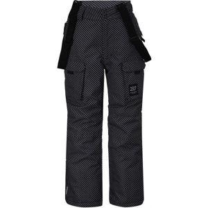 2117 LILLHEM šedá 176 - Dětské lyžařské kalhoty