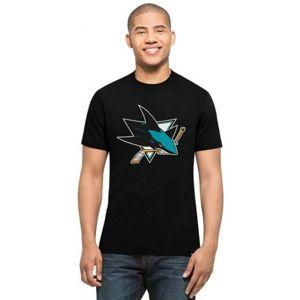 47 NHL SAN JOSE SHARKS černá XL - Pánské tričko