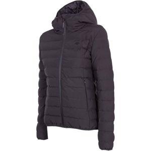 4F WOMEN´S JACKET černá XL - Dámská bunda