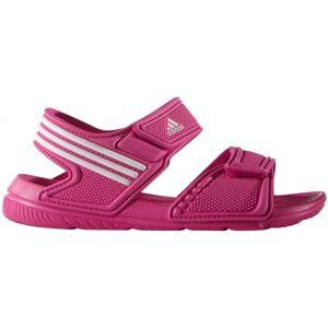 adidas AKWAH 9 K růžová 31 - Dívčí sandály