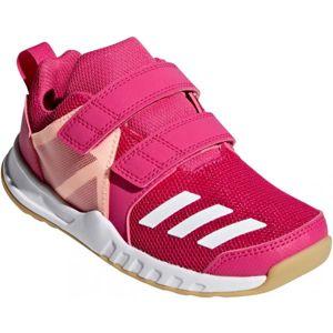 adidas FORTAGYM CF K růžová 29 - Dětská sportovní obuv