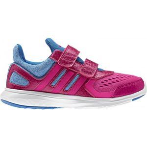 adidas HYPERFAST 2.0 CF K G růžová 35 - Dívčí běžecká obuv