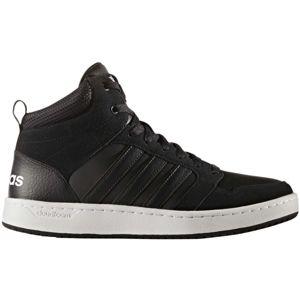 adidas CF SUPER HOOPS MID černá 8.5 - Pánská lifestyle obuv