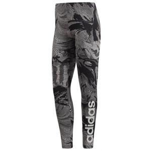 adidas W COM AOP TGT šedá L - Dámské legíny