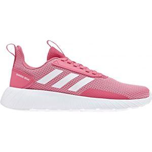 adidas QUESTAR DRIVE K růžová 5 - Dětská běžecká obuv