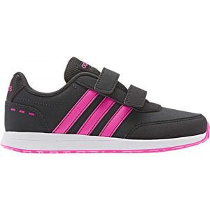 adidas VS SWITCH 2 CMF C černá 31 - Dívčí vycházkové tenisky