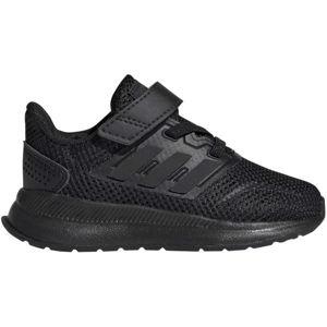 adidas RUNFALCON I černá 25 - Dětská běžecká obuv