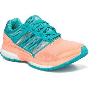 adidas RESPONSE BOOST 2 TECHFIT JUN W oranžová 6 - Dívčí běžecká obuv