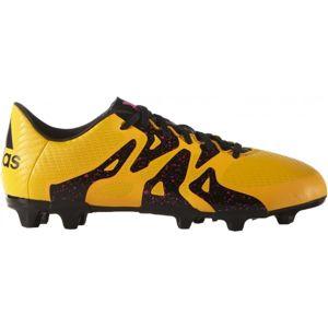 adidas X 15.3 FG/AG J žlutá 35 - Dětské kopačky