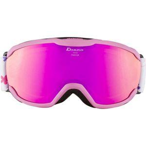 Alpina Sports PHEOS JR HM růžová NS - Dětské lyžařské brýle
