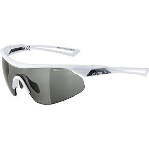 Alpina Sports NYLOS SHIELD VL bílá NS - Unisex sluneční brýle