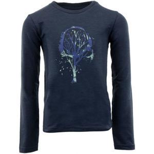 ALPINE PRO NOKOSO tmavě modrá 104-110 - Dětské triko