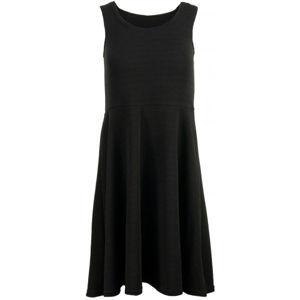 ALPINE PRO CALLIASA černá XS - Dámské šaty