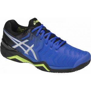 Asics GEL-RESOLUTION 7 CLAY modrá 13 - Pánská tenisová obuv