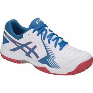Asics GEL-GAME 6 CLAY bílá 10.5 - Pánská tenisová obuv