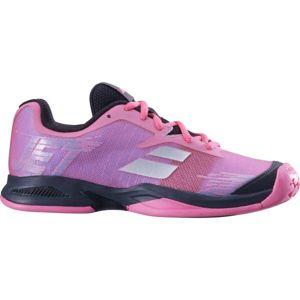 Babolat JET JR ALL COURT růžová 4 - Juniorská tenisová obuv