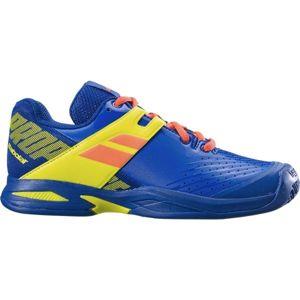 Babolat PROPULSE JR  CLAY žlutá 4 - Juniorská tenisová obuv