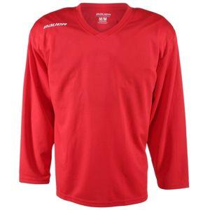 Bauer 200 JERSEY YTH červená XL - Dětský hokejový tréninkový dres