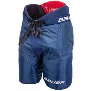 Bauer NSX PANTS JR modrá M - Juniorské hokejové kalhoty