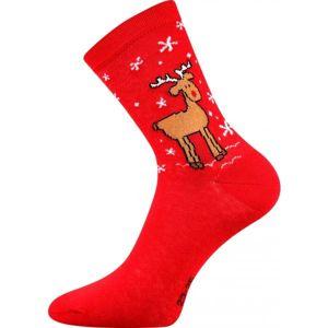 Boma PATTE 016 červená 43 - 46 - Ponožky