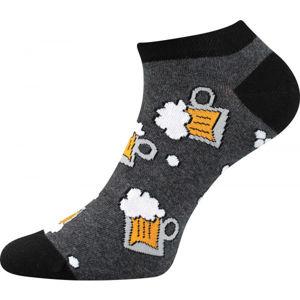 Boma PETTY 009 šedá 39 - 42 - Nízké ponožky