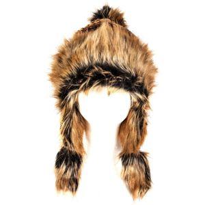 Canada Snow ERIKA hnědá NS - Dámská stylová zimní čepice