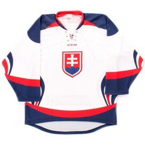 CCM Dres SIHF bílá L - Hokejový dres