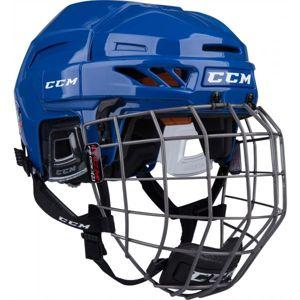 CCM FITLITE 90 COMBO SR tmavě modrá (51 - 56) - Hokejová helma
