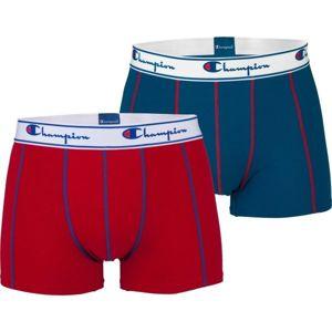 Champion BOXER CHAMPION X2 červená XL - Pánské boxerky