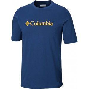 Columbia CSC BASIC LOGO TEE modrá XL - Pánské triko