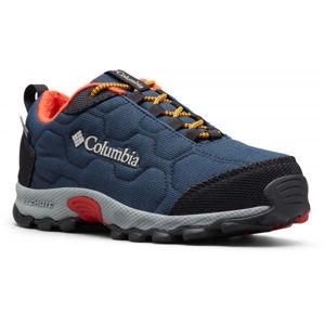 Columbia FIRECAMP SLEDDER 3 WP tmavě modrá 2 - Dětská outdoorová obuv