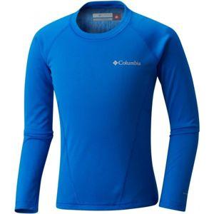 Columbia MIDWEIGHT CREW 2 modrá M - Dětské funkční triko