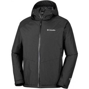 Columbia MOSSY PATH JACKET černá M - Pánská nepromokavá bunda
