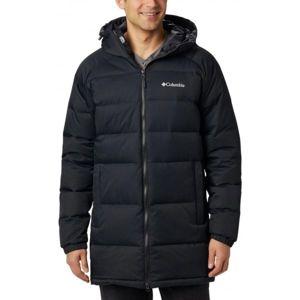Columbia MACLEAY DOWN LONG JACKET černá S - Pánská zimní bunda