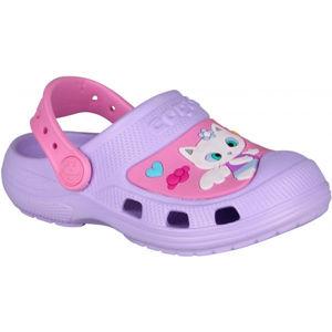 Coqui CROAKY fialová 28/29 - Dětské sandály
