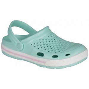 Coqui LINDO světle zelená 37 - Dámské sandály