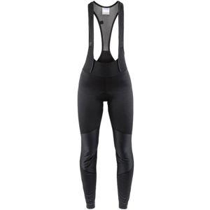 Craft IDEAL WIND W černá S - Dámské zateplené cyklistické kalhoty