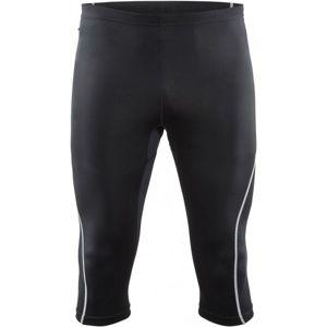 Craft MIND 3/4 KALHOTY M černá XL - Pánské běžecké kalhoty pod kolena