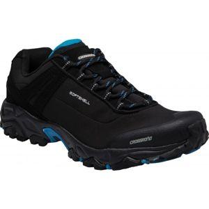 Crossroad DROPY černá 45 - Pánská treková obuv