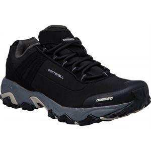 Crossroad DROPY černá 40 - Unisexová treková obuv