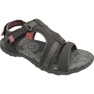 Crossroad MATILDE šedá 40 - Dámské sandály