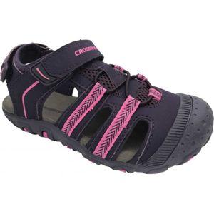 Crossroad MILL fialová 25 - Dětské sandály