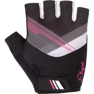 Etape LIANA černá S - Dámské cyklistické rukavice