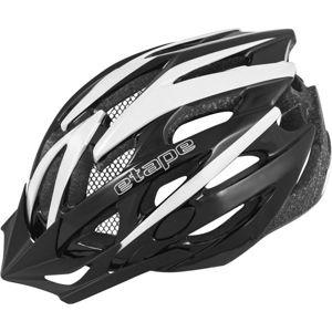 Etape TWISTER 2 černá (55 - 56) - Pánská cyklistická helma