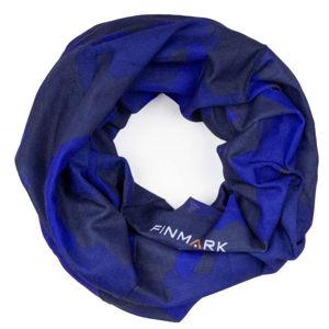 Finmark FS-005 modrá UNI - Multifunkční šátek