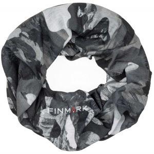 Finmark FS-007 šedá UNI - Multifunkční šátek