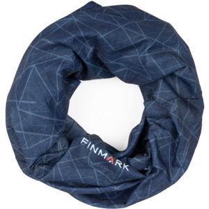 Finmark FS-008 modrá UNI - Multifunkční šátek