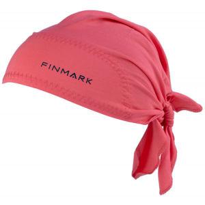 Finmark FS-018 růžová UNI - Funkční trojcípý šátek