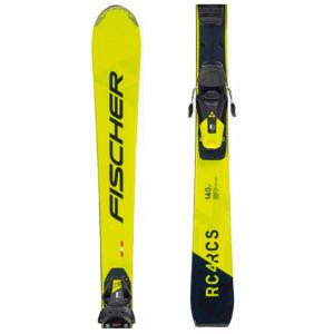 Fischer RCS JR+RC4 Z9  150 - Juniorské sjezdové lyže