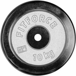 Fitforce PLC 10KG 25MM černá 10 KG - Nakládací kotouč